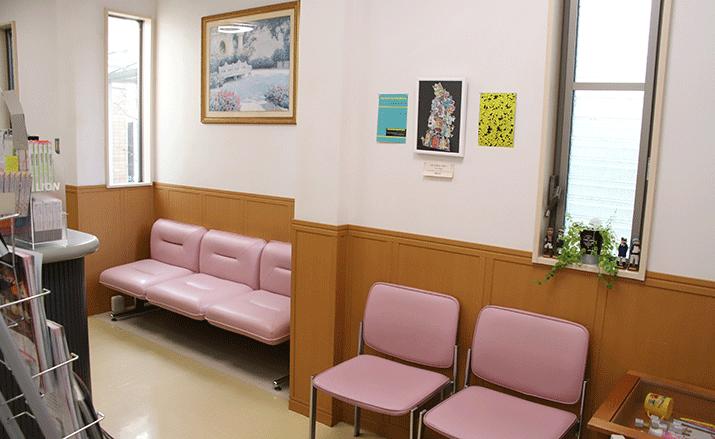 ふるかわ歯科医院の受付